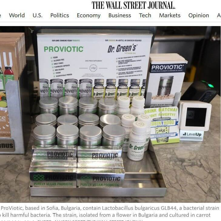 The Wall Street Journal Proviotic